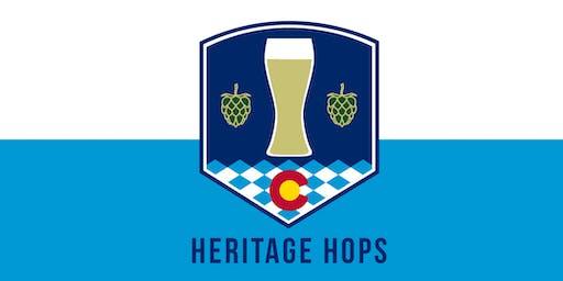 3rd Annual Heritage Hops ~ BEER & FOOD PAIRING EXPERIENCE!