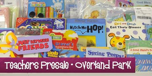 Teachers Presale (FREE) | Just Between Friends Overland Park Fall Sale