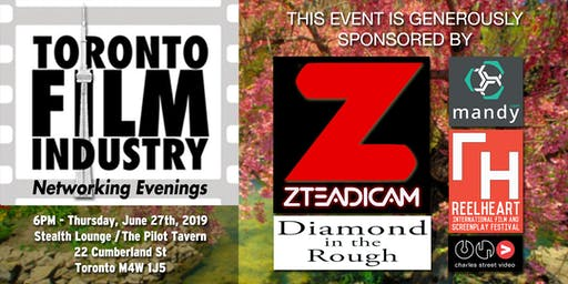 JUNE Toronto Film and TV Networking evening