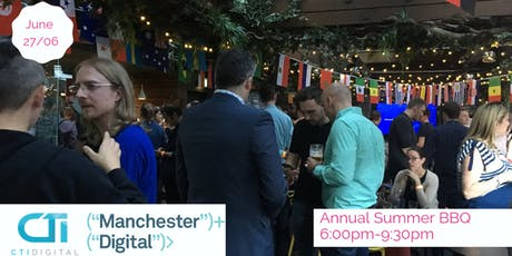 Manchester Digital Summer BBQ 2019 tickets