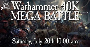 Warhammer 40K Mega Battle