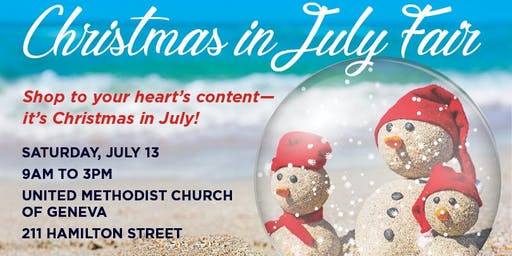 TriCity Family Services' Christmas in July Fair