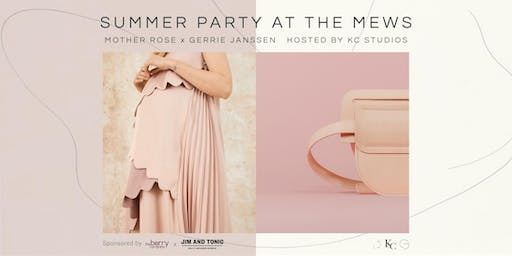 Summer Party at the Mews