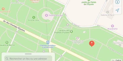 OM Chanting - Jardins de l'Elysée