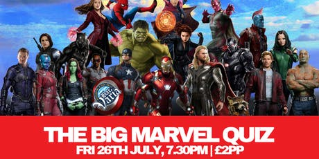 the Big Marvel Quiz tickets