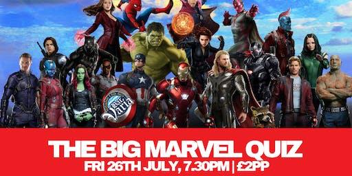 the Big Marvel Quiz