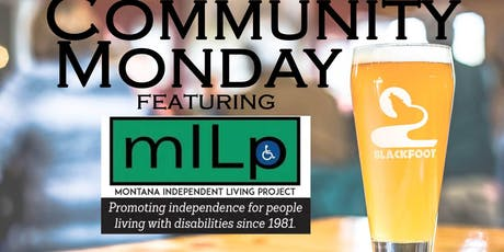 Community Monday with Montana Independent Living Project tickets