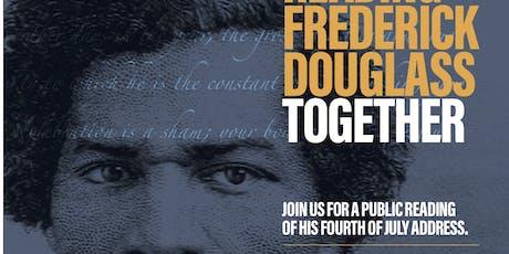 Read and Discuss Frederick Douglass' Famous 1852 Speech tickets