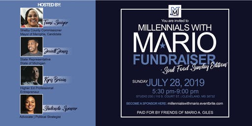 Millennials With Mario Fundraiser