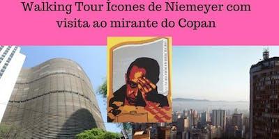 Walking Tour Ícones de Niemeyer com visita ao mirante do Copan