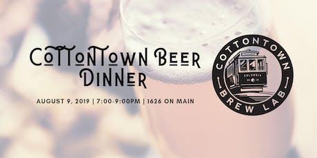Cottontown Beer Dinner tickets