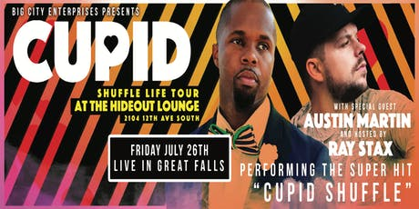 Cupid ( ShuffleLife Tour ) With Austin Martin tickets