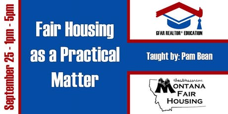 Education Course - Fair Housing as a Practical Matter tickets