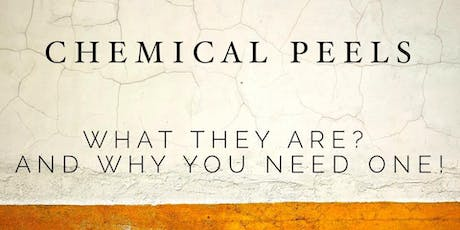 Sip and Learn - Chemical Peels tickets