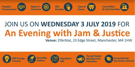 An Evening with Jam and Justice tickets