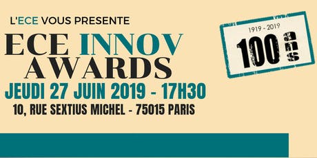 ECE INNOV'AWARDS billets