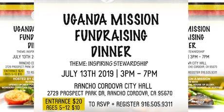 UGANDA MISSION FUNDRAISING DINNER tickets