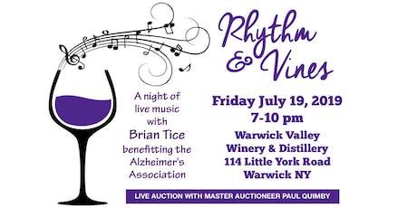 Rhythm & Vines  Music & Wine festival for The Alzheimer's Association tickets