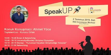 Kurumsal Hayattan Girişimciliğe Yolculuk - Ahmet Yüce (Toptalent.co) tickets