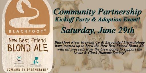 Community Partnership Kickoff Party & Adoption Event