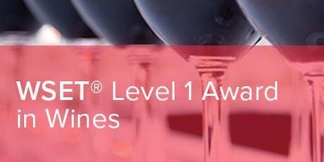 WSET Level 1 Award In Wine tickets