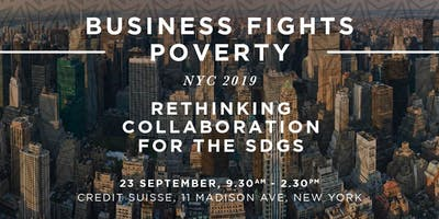 Business Fights Poverty NYC 2019