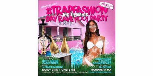 #TrapFashion: The Ultimate Day Rave Pool Party