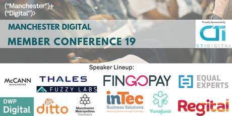 Manchester Digital member conference  tickets