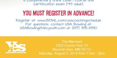 FREE USA Bowling Coach Certification Seminar - The Mermaid, Mounds View, MN