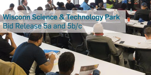 Wisconn Valley Science & Technology Park Phase 1, Area 1 Pre-bid and Matchmaking Session - Bid Package 5a and 5b/c
