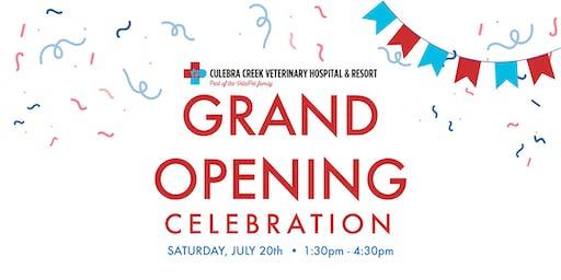 Grand Opening Celebration! - VitalPet - Culebra Creek Veterinary Hospital & Resort