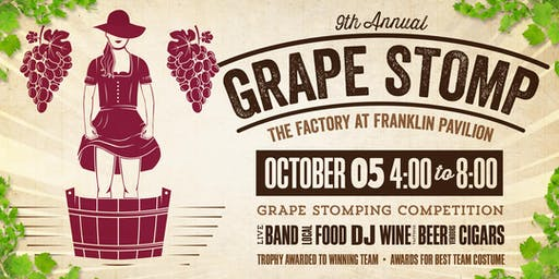 A Vintage Affair 9th Annual Grape Stomp