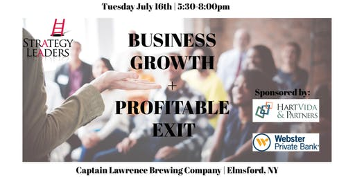 Business Growth + Profitable Exit