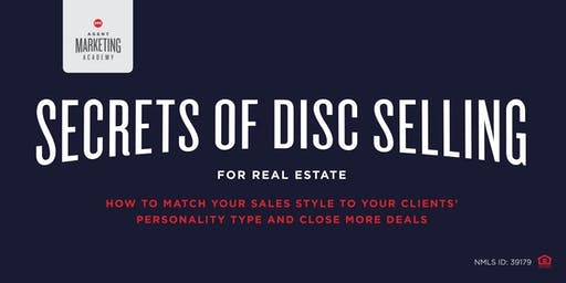 Secrets of DISC Selling - How to match your style to your clients - close more!!!!