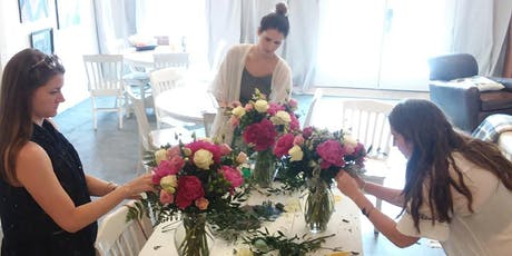 Flower Bar DIY Workshop- summer series- Peonies! tickets