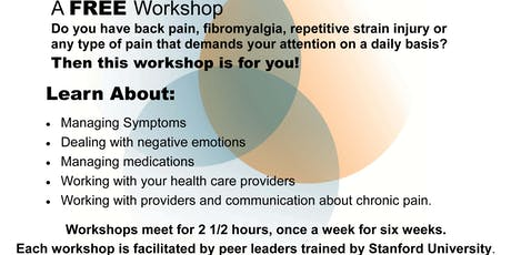 *FREE* Our Pathways to Health CHRONIC PAIN Self Management Workshop tickets