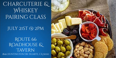Charcuterie and Whiskey Pairing Class tickets