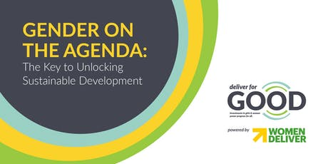 Gender on the Agenda: The Key to Unlocking Sustainable Development tickets