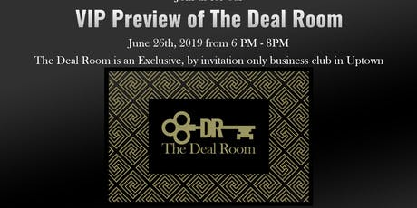 VIP Preview to the Dallas Deal Room Members Only Club tickets