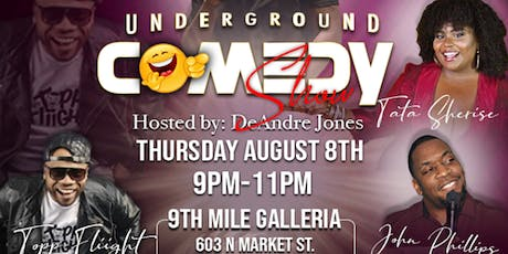 UNDERGROUND COMEDY SHOW tickets