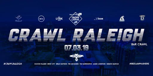 BAR CRAWL JULY 4TH CELEBRATION #CRAWLRALEIGH