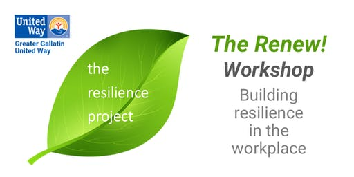 The Renew! Workshop - Building resilience in the workplace