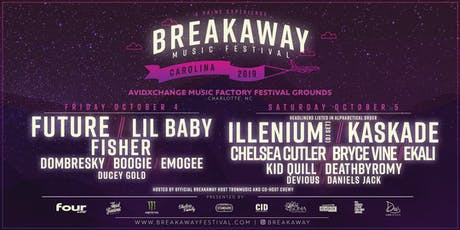 Breakaway Music Festival - Carolina tickets