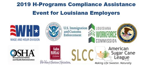 2019 H-Programs Compliance Assistance Event for Louisiana Employers