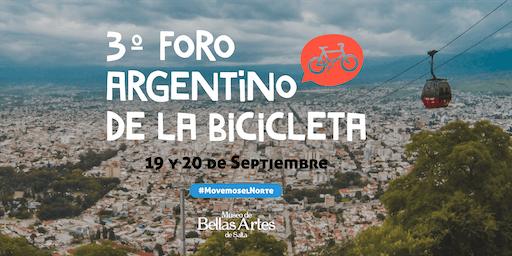 3er Foro Argentino de la Bicicleta (FAB) 19 y 20 de Septiembre