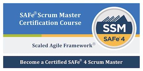 Scaled Agile Framework® (SAFe®) Scrum Master Course, Nashua NH (7/11-7/12) tickets