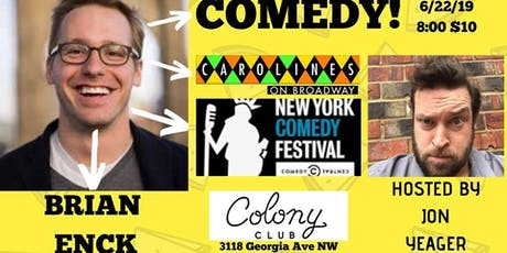 Comedy with Brian Enck (Caroline's on Broadway)! tickets