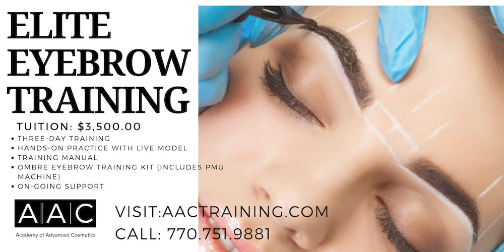 ELITE EYEBROW CERTIFICATION TRAINING Tickets, Mon, Sep 23