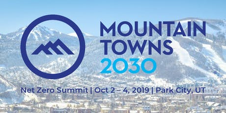 Mountain Towns 2030 Net Zero Summit tickets
