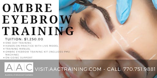 OMBRE EYEBROW CERTIFICATION TRAINING